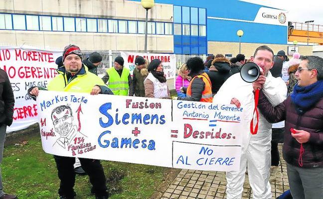 La Junta traslada a Gamesa tres opciones para evitar el cierre de la planta de Miranda