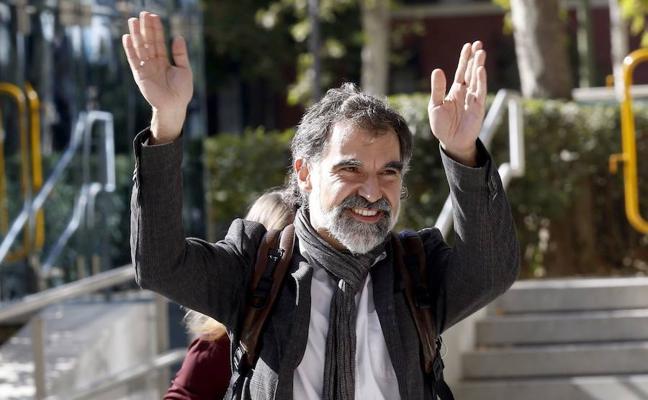 Cuixart rechazó ante el juez repetir un referéndum