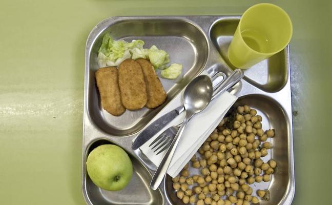 Los menús escolares, a examen