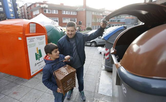 El reciclaje de residuos orgánicos bate un nuevo récord en Basauri