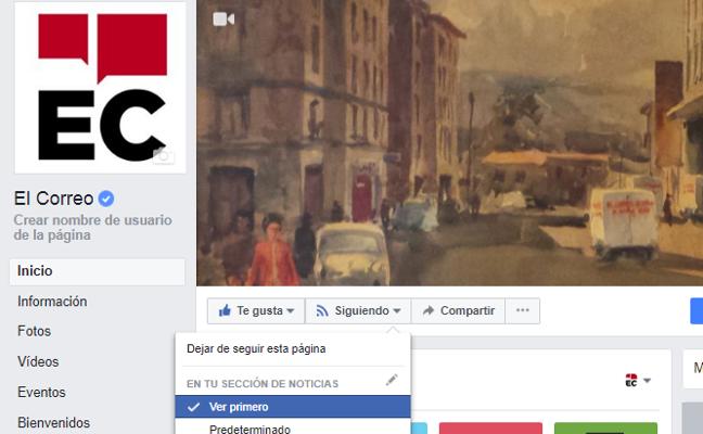 Cómo seguir viendo noticias en tu muro de Facebook