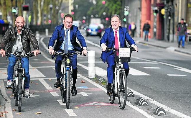 Todas las bicicletas públicas de Bilbao serán eléctricas en mayo