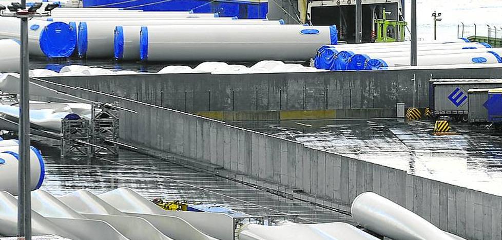 El muro de hormigón de cuatro metros del Puerto de Bilbao no frena a los polizones del ferry