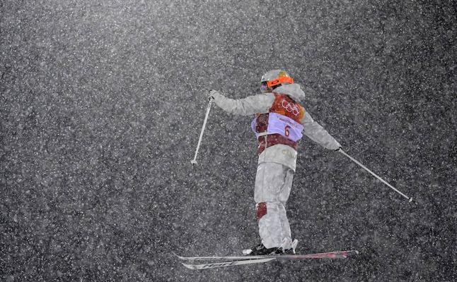 Frío glacial, viento y un sismo, la naturaleza se hace notar en Pyeongchang