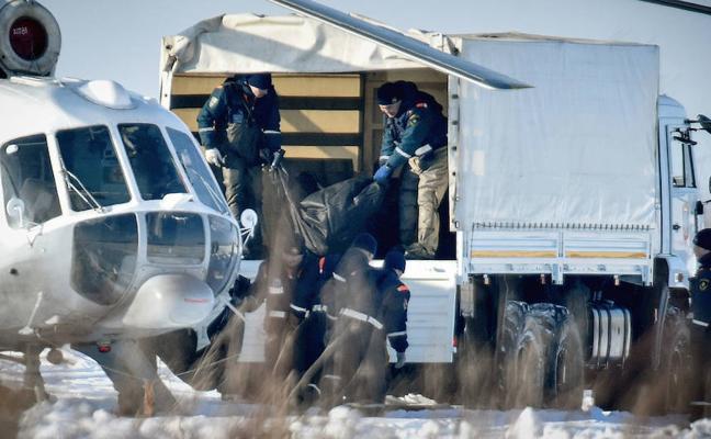 El avión de Moscú en el que murieron 71 personas no explotó en vuelo