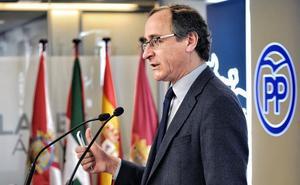 Alonso admite «preocupación» en el Gobierno con la propuesta soberanista del PNV pero actuará con «prudencia y cautela»