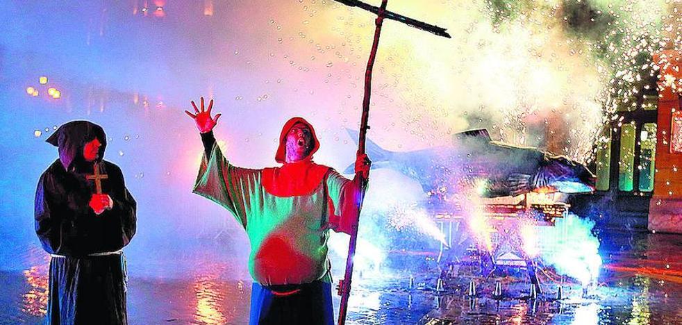Los últimos cartuchos del Carnaval de Bilbao arden en la hoguera