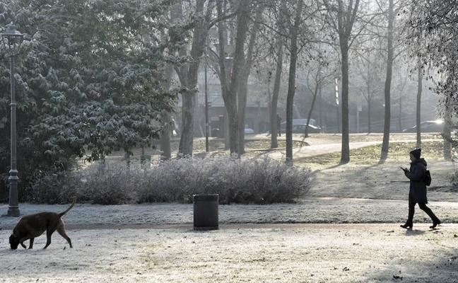 Hiela en toda la provincia: Iturrieta da la mínima con -9,3 grados