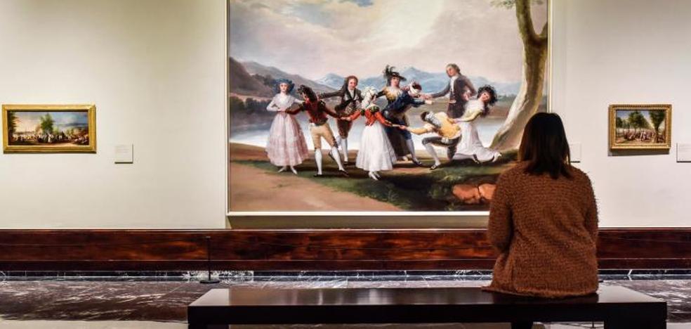 El Bellas Artes refleja la llegada de Goya a la corte de Carlos III, un camino lleno de zancadillas
