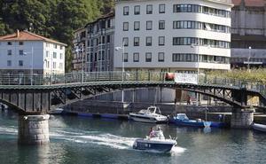 Rehabilitar el puente giratorio de Ondarroa llevará nueve meses