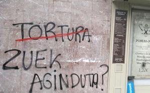 PNV y PSOE denuncian ataques con pintadas contra varios batzokis y Casas del Pueblo