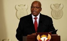 Jacob Zuma anuncia su dimisión como presidente de Sudáfrica