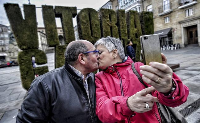 Besos vitorianos para celebrar San Valentín