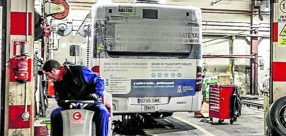 Ofensiva en el Parlamento para obligar al Gobierno vasco a pagar las cocheras del 'bus exprés'