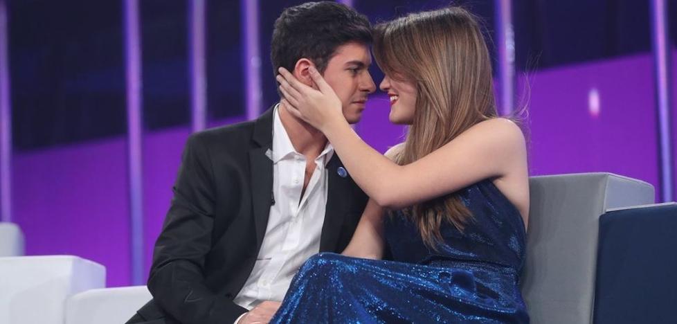 Alfred le declara su amor a Amaia en 'OT': «Me enamoré de ella hace tres meses»