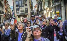 Bizkaia bate su récord de turistas, con casi millón y medio
