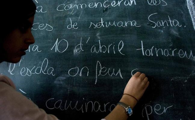 El Gobierno central se plantea introducir el castellano como lengua vehicular en Cataluña