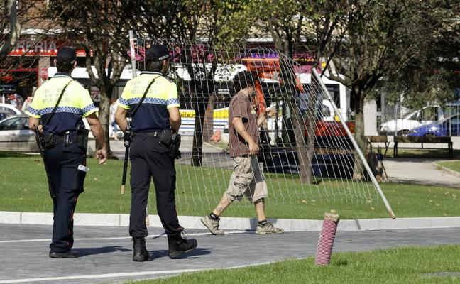 Los sindicatos convocan movilizaciones semanales en la Policía Local de Barakaldo