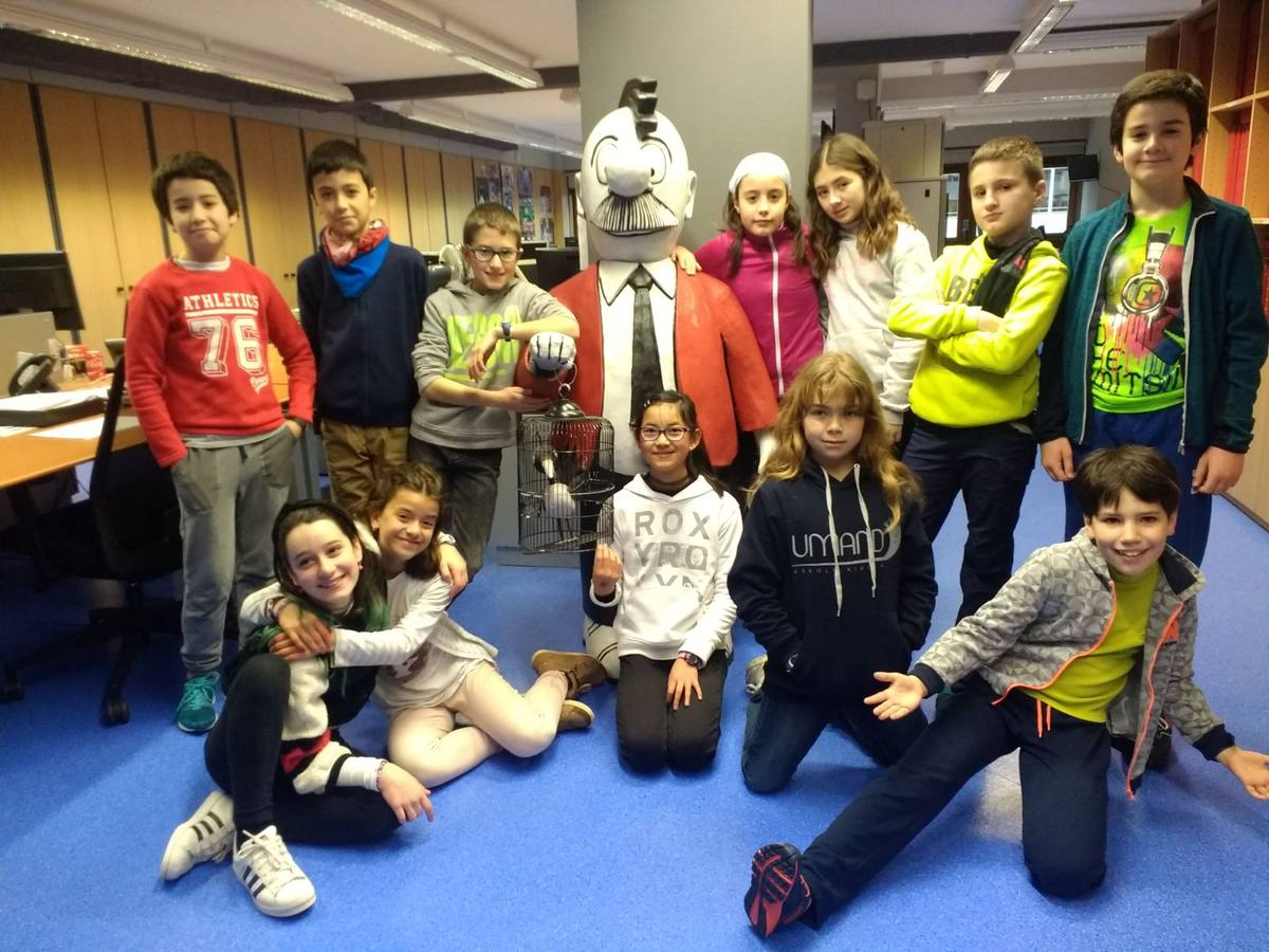 Visita centro escolar Umandi (Vitoria-Gasteiz) - 12, 13 y 14 de febrero