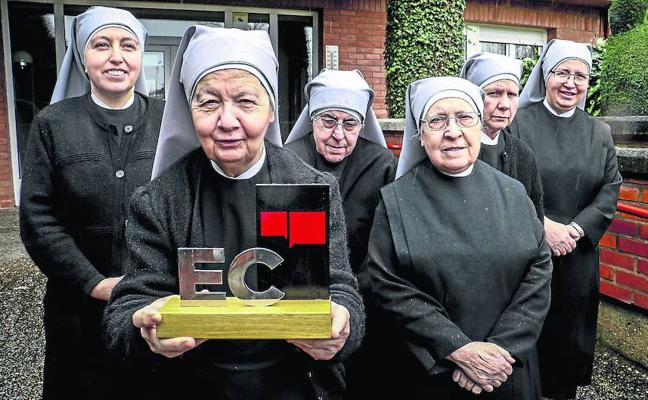 Las Hermanitas de los Pobres: «Nos quedamos con el cariño que hemos dado y recibido en Vitoria»