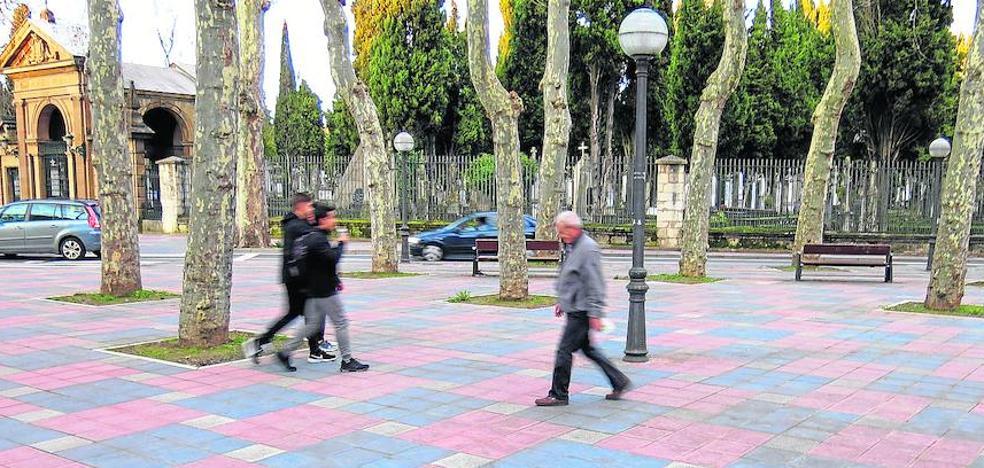 Monolitos para preservar la memoria en Vitoria