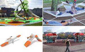 Los nuevos parques de Bilbao: hamacas y zonas de ejercicio para perros
