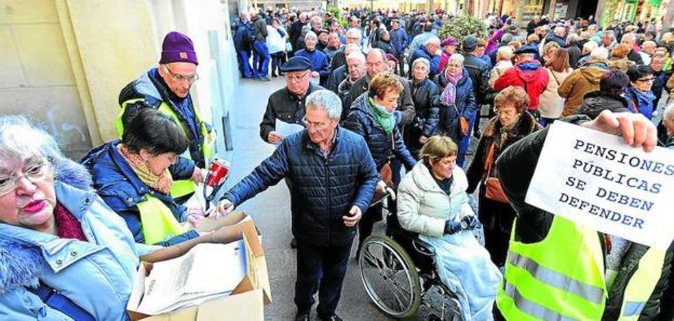 Los pensionistas alaveses preparan otra gran movilización
