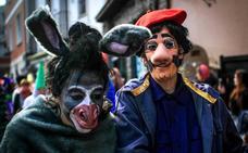 Algorta se viste de Carnaval