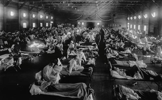 La letal 'gripe española'