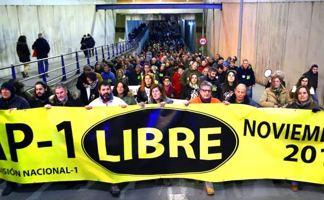 Todos se unieron en la petición 'Gobierno de la nación, AP-1 liberación'