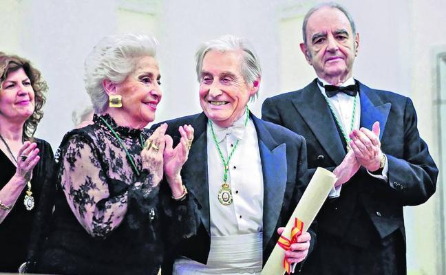 Achúcarro, el gran productor de emociones, ingresa en la Academia de Bellas Artes de San Fernando