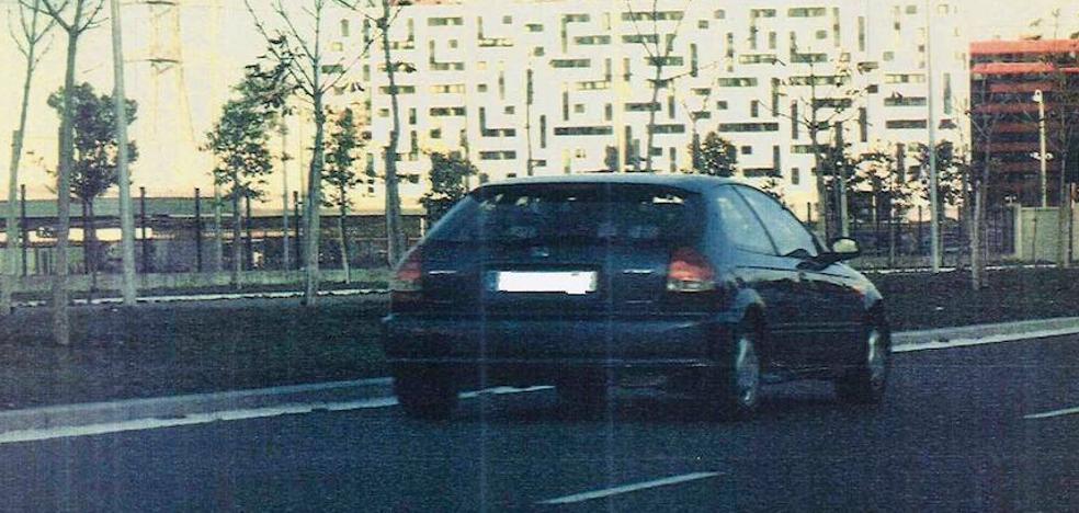Las mayores infracciones de velocidad cazadas en Vitoria