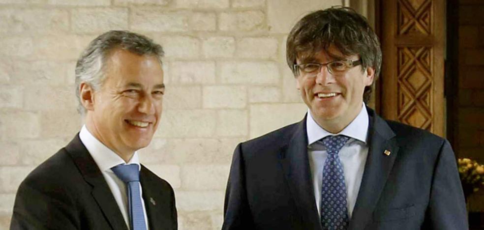 ERC solicita al lehendakari que interceda ante Puigdemont para desbloquear la investidura