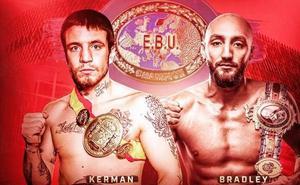 Kerman Lejarraga defenderá su título europeo frente a Bradley Skeete en Bilbao