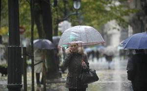 La lluvia da una tregua, pero la temperatura se desploma