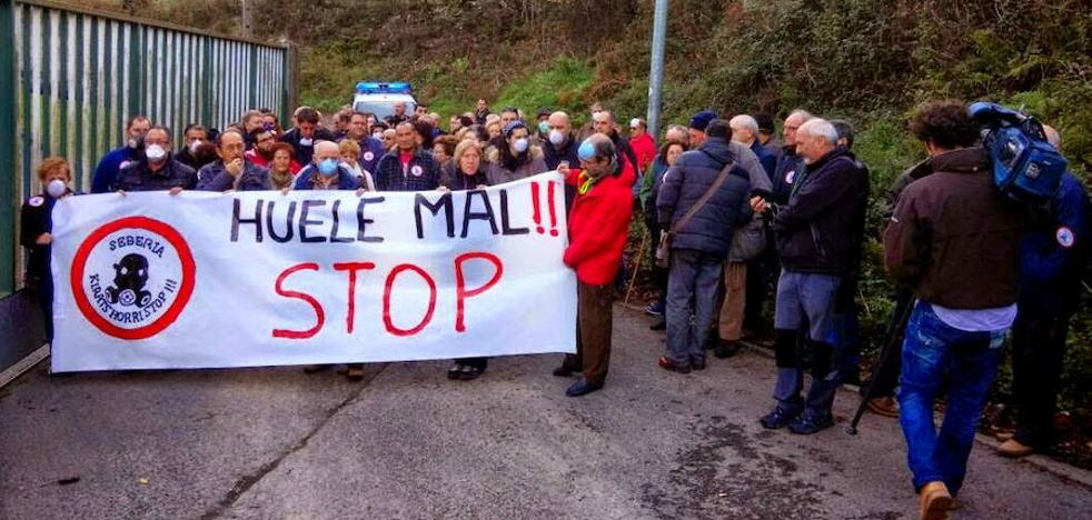 Ortuella y Trapagaran retoman este domingo las movilizaciones contra la sebería