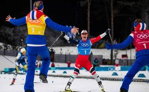 La noruega Björgen bate el récord de medallas en unos Juegos de Invierno