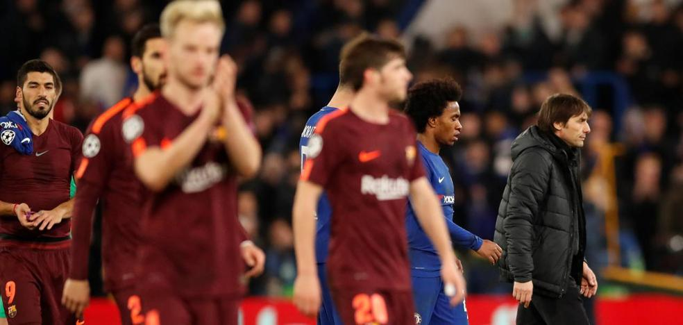 La telaraña de Conte sin ningún inglés, a debate para el Camp Nou