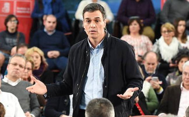 Sánchez advierte de que la reforma del Estatuto debe alumbrar una Euskadi «unida»