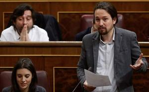 Pablo Iglesias niega que las mujeres que trabajan en Podemos cobren menos que los hombres
