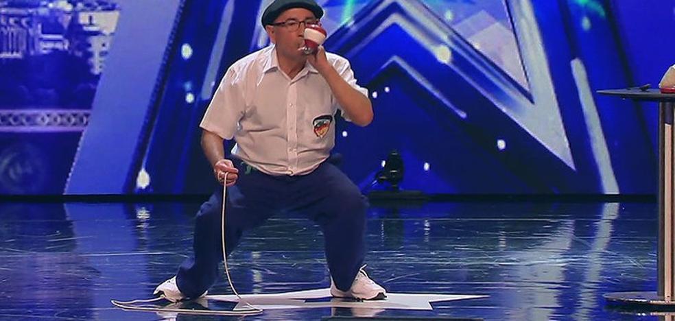 El jubilado de Portugalete que sorprendió en 'Got Talent'