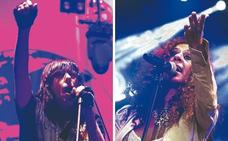 Rosario Flores y Marky Ramone, estrellas de las fiestas de Vitoria