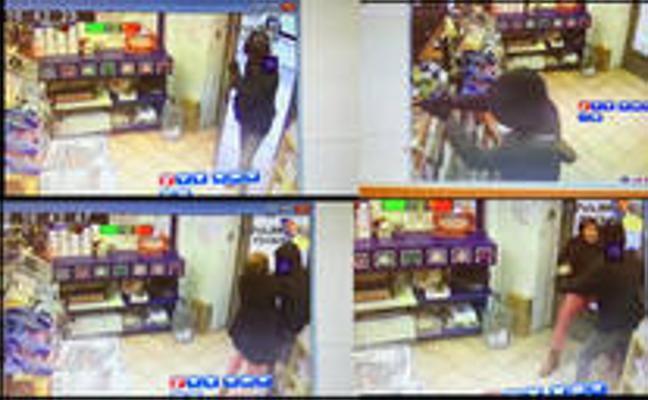La dueña de un estanco guipuzcoano desarma a un atracador que pretendía robarle con una pistola
