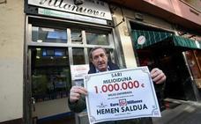 El Euromillones deja un millón en Bilbao