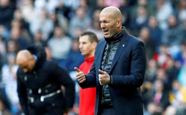 Zidane: «La confianza vuelve con partidos así»