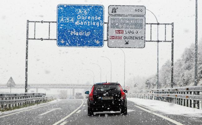 Emma, la borrasca que trae lluvia y nieve en cotas bajas a casi toda España