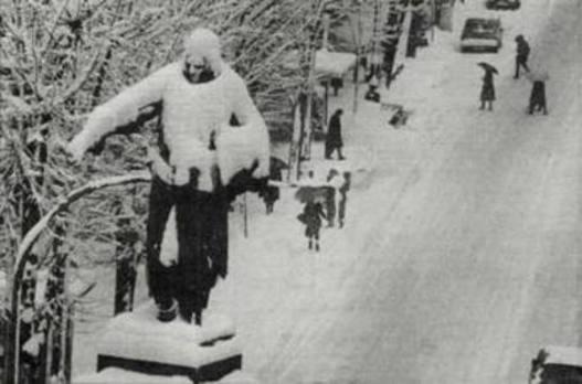 Aquella nevada de 1985
