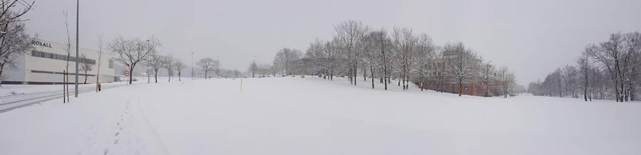 Tus fotos de la nevada de Bizkaia (Txorierri)
