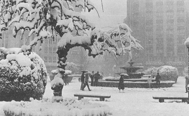 La gran nevada de 1985