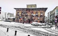 La nieve ralentiza el ritmo de Haro